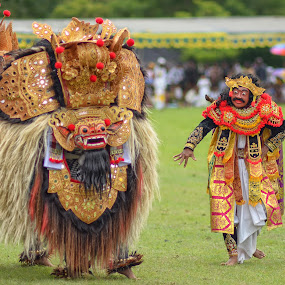 Barong Dance by N.T Irwanto - People Group/Corporate