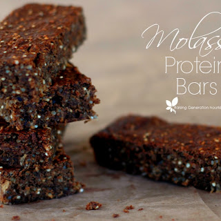 Molasses Protein Snack Bars