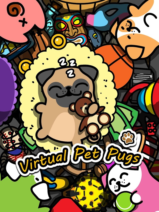 Virtual Pet Pug -Dog Collector Screenshot 15
