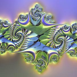 by Cassy 67 - Illustration Abstract & Patterns ( 3d, swirl, digital art, spiral, fractal, fractals, digital, eels )