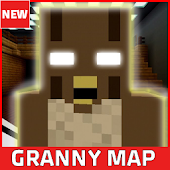 Horror Map Granny for MCPE icon