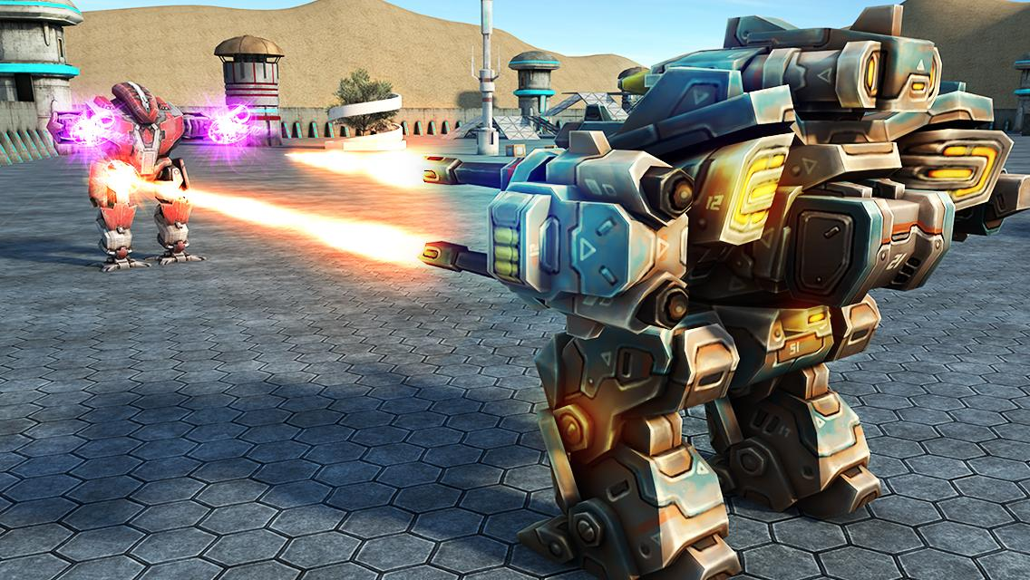Mech Robot War 2050 Screenshot 12