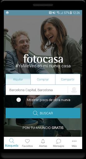 Fotocasa rent and sale screenshot 1