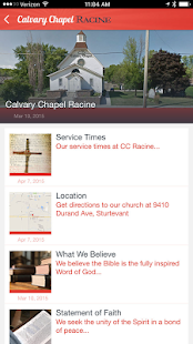 Calvary Chapel Racine - screenshot