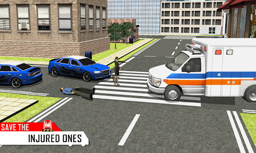 Ambulance Rescue Driver 3D - screenshot