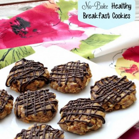 No-Bake Healthy Breakfast Cookies