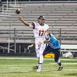 Malcolm Anderson by Elk Baiter - Sports & Fitness American and Canadian football ( wildcats, mountain view, high school, football, quarterback, varsity, sports, athlete, pass )