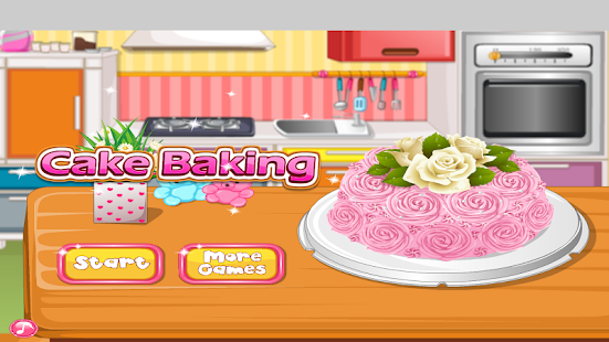 Bake A Cake : Cooking Games- screenshot thumbnail