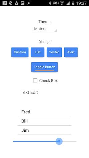 DroidScript - JavaScript IDE - screenshot