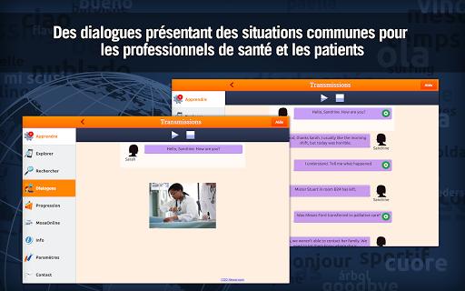 Anglais Médical - MosaLingua - screenshot