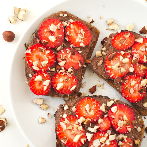 Strawberry Nutella Bruschetta