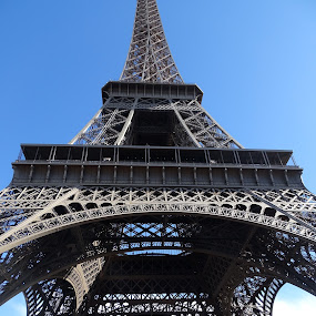 Tour Eiffel from below by Patrizia Emiliani - Buildings & Architecture Public & Historical ( tour eiffel,  )