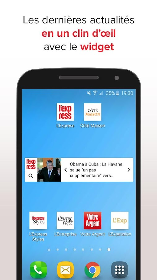 L'Express : l'actu en continu Screenshot 5