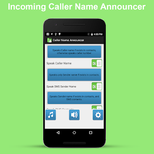 Incoming Caller Name Announcer - screenshot