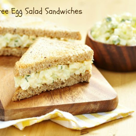 Gluten Free Egg Salad Sandwiches