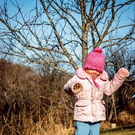 Bounce by William Boyea - Babies & Children Children Candids ( girl, jumping, spring, bounce )