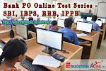 Bank PO Online Test Series - SBI, IBPS, RRB, IPPB