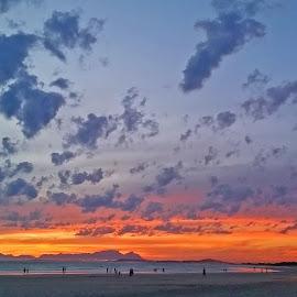 Strand Sunset by Efraim van der Walt - Landscapes Cloud Formations ( colourful, nature, sunset, scapes )