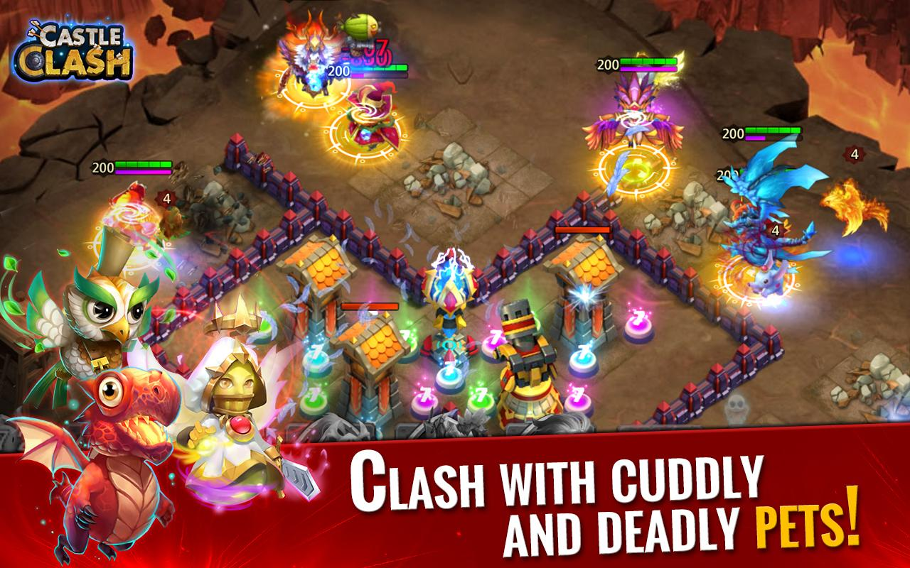 Castle Clash: Rise of Beasts Screenshot 4