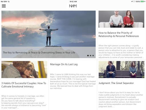 Nothing Hidden Ministries App - screenshot