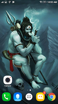 Lord Shiva HD Live Wallpaper 2017 : Mahakal Status APK screenshot thumbnail 5