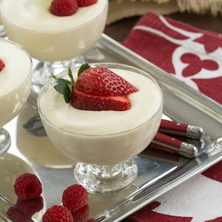 White Chocolate Mousse with Frangelico