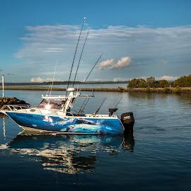 by Cora Lea - Transportation Boats