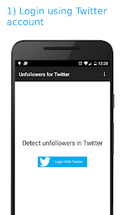 Unfollowers for Twitter - screenshot