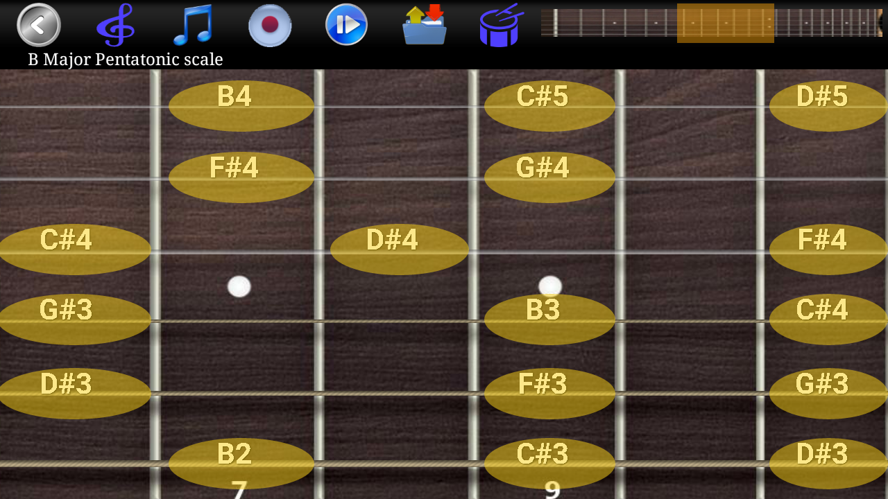 Guitar Scales & Chords Pro Screenshot 3