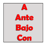 Prepositions in spanish APK Image