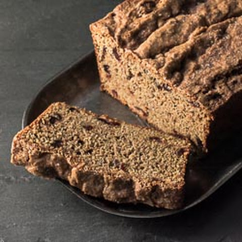 Whole Wheat Sweet Potato Bread with Cranberries