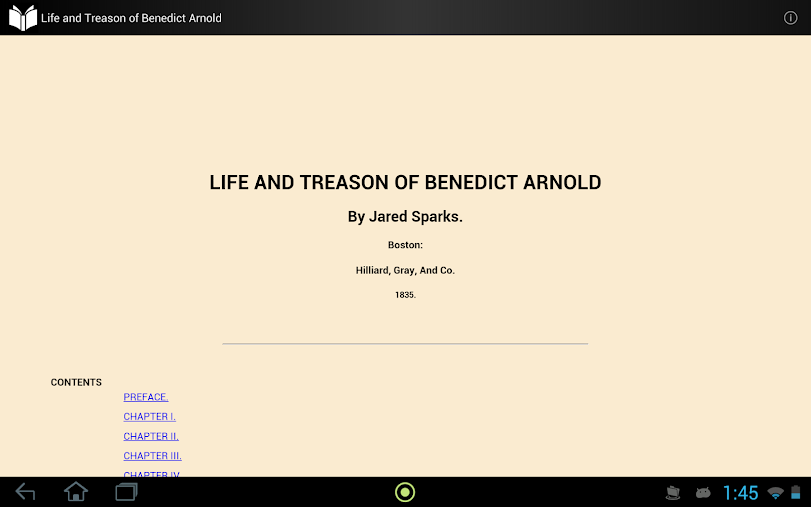 Treason of Benedict Arnold APK
