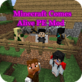 App NEWMinecraft Comes AlivePE Mod 2.11 APK for iPhone