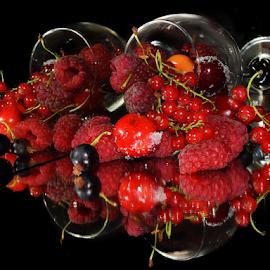 red fruits by LADOCKi Elvira - Food & Drink Fruits & Vegetables ( fruits )
