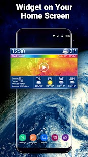 Real-time Weather Radar Alert screenshot for Android