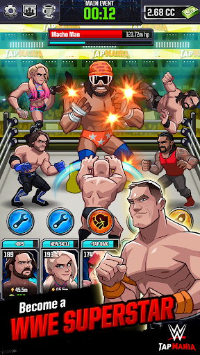 WWE Tap Mania For PC