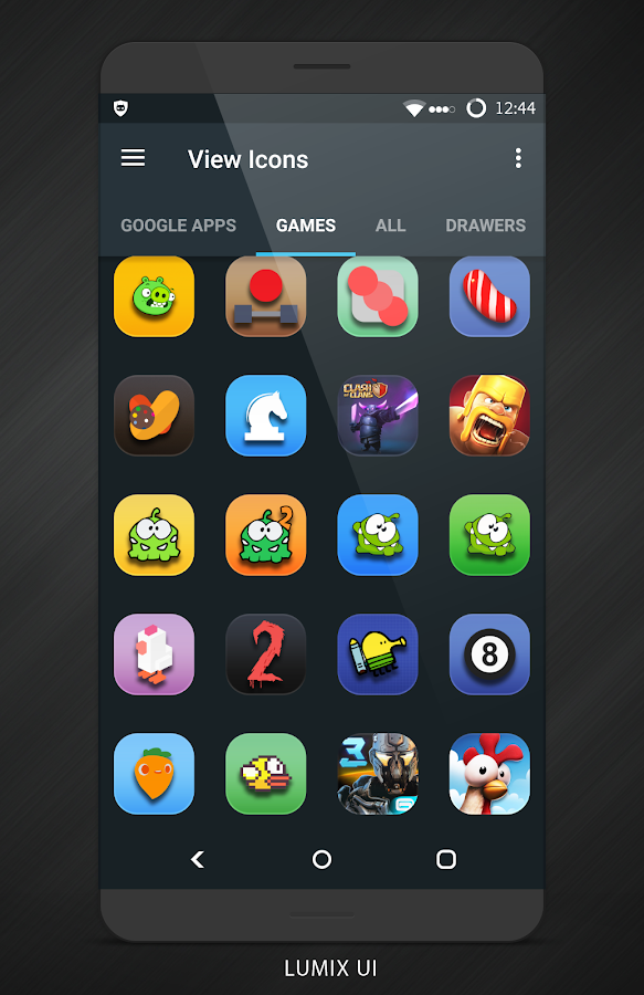 Lumix UI - Icon Pack Screenshot 5
