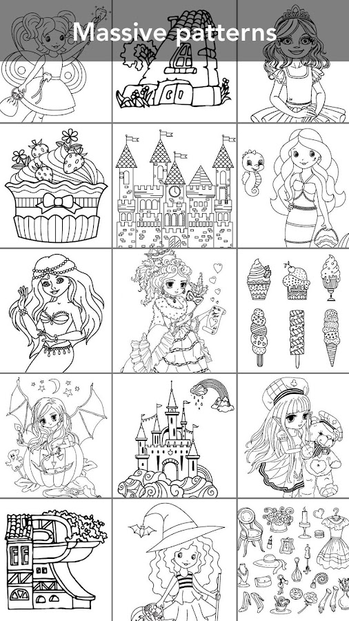 Princess coloring book Screenshot 4