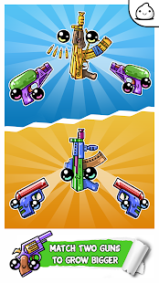 Guns Evolution - Idle Cute Clicker Game Kawaii