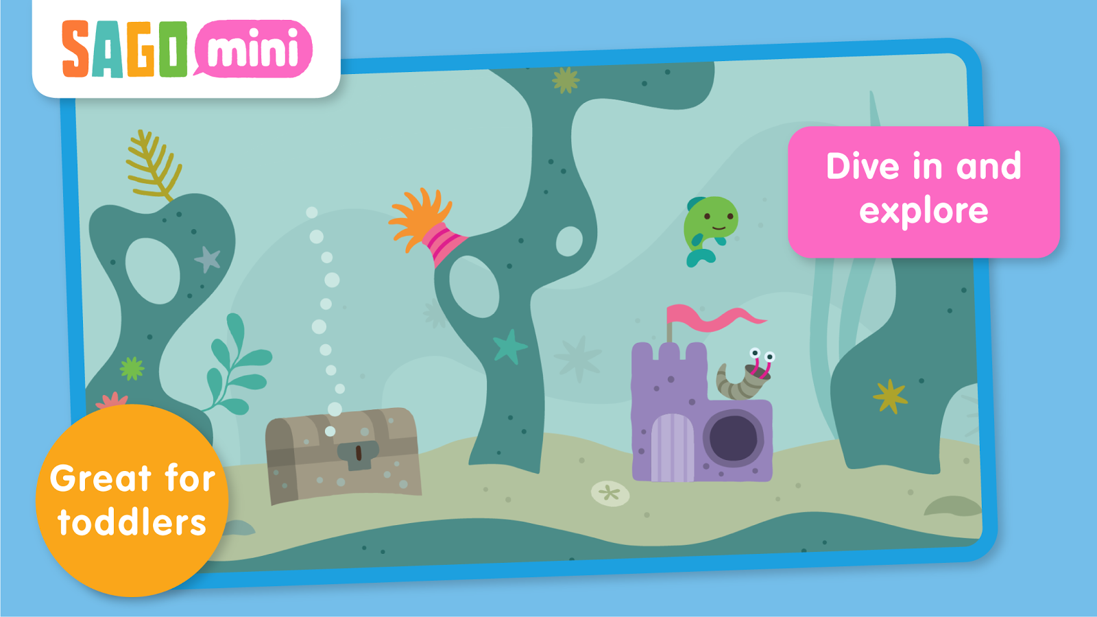 Sago Mini Ocean Swimmer Screenshot 7