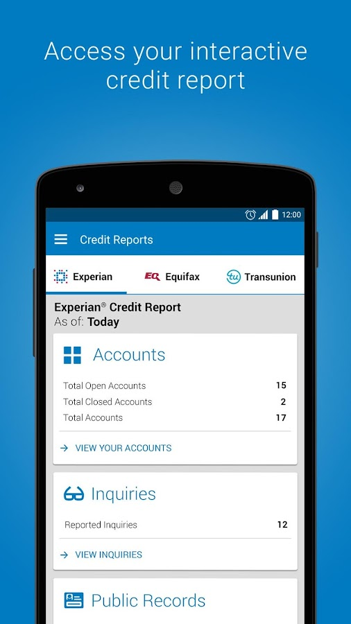 Experian - Free Credit Report Screenshot 2