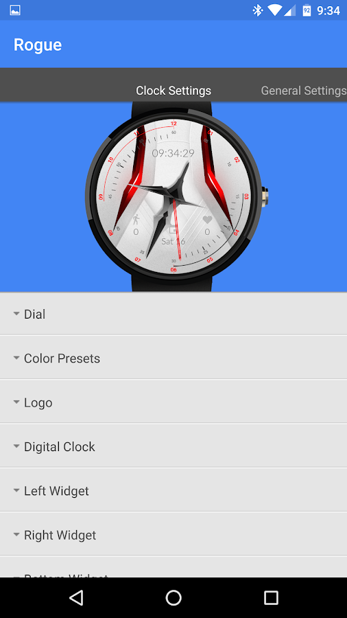 Rogue Watch Face Screenshot 2