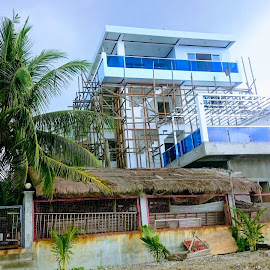 Adi's Beach Resort Hotel & Restaurant by Florante Lamando - Buildings & Architecture Office Buildings & Hotels ( landmark, resort, seascape, beach, hotel, landscape )