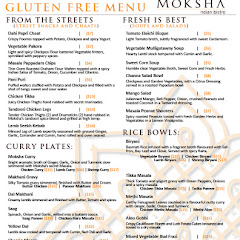 Entire gluten free menu. Amazing!!!