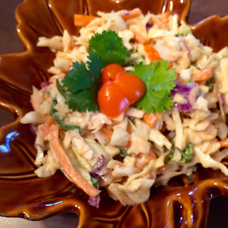 Thai Slaw with Peanut & Lime Dressing