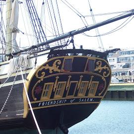 Friendship of Salem by Arlita Baptista - Transportation Boats