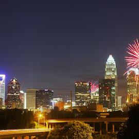 Fourth of July Celebration, Charlotte, NC by Avishek Bhattacharya - Public Holidays July 4th