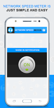 Network Speed Meter By CKR Software Solutions Pvt. Ltd APK screenshot thumbnail 3