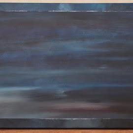 Bewegend licht by Kris Van den Bossche - Painting All Painting