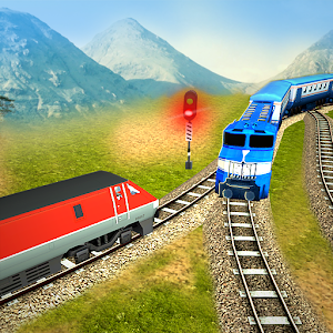 3D Train Racing Driver New App on Andriod - Use on PC